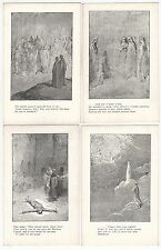 23 - Religious, Mythological Drawings/Scenes with Verse Antique Postcards N4500