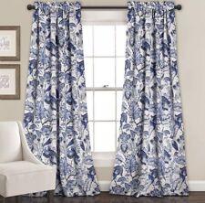 Lush Decor Cynthia Jacobean Room Darkening Window Panel Curtain Set (Pair