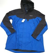 $285 Mountain Hardwear Men's Heritage Exposure Parka Size Large Blue/Black NEW