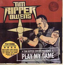 Tim Ripper Owens - Play My Game CD 12 track promo (Judas Priest)
