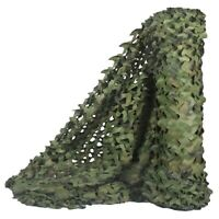 Hunting Camouflage Nets Woodland Camo Netting Blinds Great For Sunshade Cam S1M7