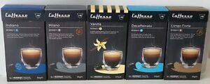 50 x Nespresso Compatible Coffee Pod Capsules Espresso - 5 Different Blends