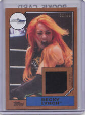 2017 Topps Heritage WWE Becky Lynch /99 Shirt Relic Smackdown Live