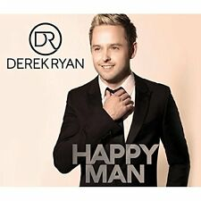 DEREK RYAN - HAPPY MAN CD ALBUM (Released October 21st 2016)