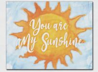 You are my sunshine Metal Tin sign Home Office school Wall decor new