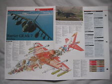 Cutaway Key Drawing of the McDonnell Douglas/BAE Harrier GR.Mk 5