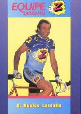 Gilbert DUCLOS-LASSALLE Cyclisme Cycliste Z PEUGEOT 92