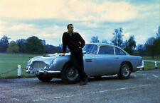 Sean Connery James Bond 007 Aston Martin 10x8 Photo