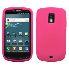 Samsung Galaxy S Lightray 4G Rubber SILICONE Soft Gel Skin Case Cover Hot Pink