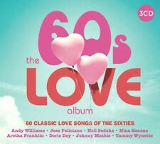 THE 60's LOVE ALBUM ~ NEW 3CD SET A SELECTION OF SIXTIES GREATEST LOVE SONG HITS