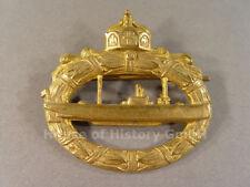 U-Boot Kriegsabzeichen 1918 , massive Ausführung, ohne Hersteller, 68921