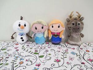 Cute Lot of Hallmark itty bitty's Disney, Frozen Plush