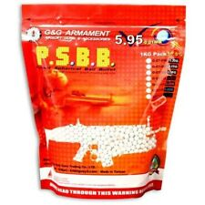 1000 G&G ARMAMENT SEAMLESS .25g BBs PRECISION AIRSOFT 6mm BB PELLETS AMMO Gun