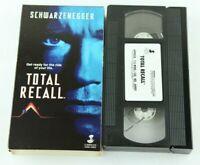 Total Recall VHS Arnold Schwarzenegger Carolco Home Video 1990