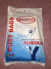 Eureka Upright Style Y Bags, 3 pack + 1 Filter