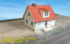 Z Scale Building - Cover Stock(paper) Pre-Cut Swedish Style house -NS2Z