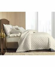 Hotel Collection QUEEN OPALESCENT COVERLET & SHAMS Set  Oyster $575 New w/o Tags