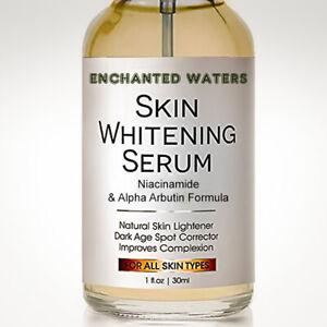 Dark Skin Whitening Lightening Ultra Brightening Serum Dark Spot Bleaching Cream