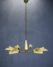 VINTAGE MID CENTURY 1950s FRENCH MATHIEU MATEGOT STYLE MODERNIST CHANDELIER