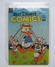 US - Walt Disney Comics and Stories (Dell) # 92 Graded 3.5