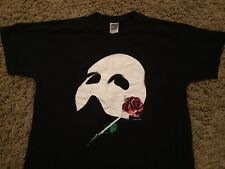 PHANTOM OF THE OPERA vintage Glow-in--Dark Broadway official shirt Adult Large