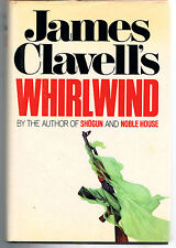 WHIRLWIND by James Clavell-Hardcover Dust Jacket,1st Edition,STATED~VERY GOOD