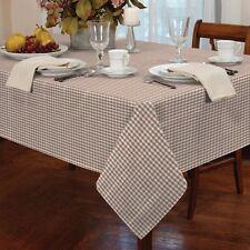 petit carreau beige carré blanc 86.4x86.4cm 90x90cm Nappe de table