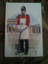 Military Postcard 1st bn Queens Lancashire Regiment QLR 1992-4 by Alix Baker