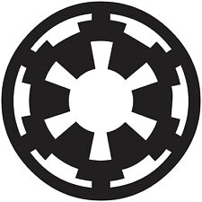 Star Wars Imperial Cog Logo Vinyl Decal Sticker for Car Laptop Tablet Wall Truck