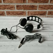 More details for vintage sony dr-25 dynamic stereo headphones + extension lead