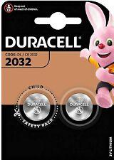 Duracell DL/CR 2032 2 Pack 3V Lithium - Brand New & Sealed UK Stock Exp 05/2030