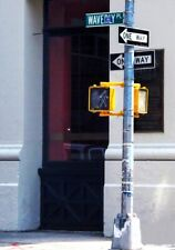 Waverly Pl Place NYC street sign authentic Greenwich Village Stonewall Inn