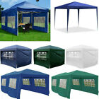 2.5x2.5m/3x3m/3x6m Heavy Duty Waterproof Garden Pop Up Gazebo Marquee Tent Sides