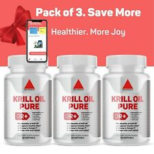 Omega-3 Antarctic Krill Oil Heart Health Support EPA, DHA, with Astaxanthin