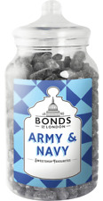 BONDS - ARMY & NAVY - 2.5KG JAR, TRADITIONAL SWEETS,GIFT, XMAS,RETRO