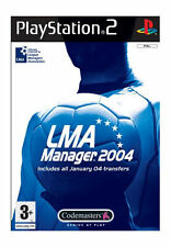 LMA Manager 2004 (Sony PlayStation 2, 2004)