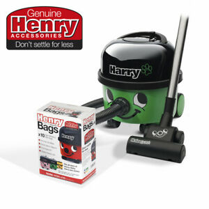 Harry HHR200 Corded Cylinder Pet Vacuum Cleaner + 10 HepaFlo Filter Bags