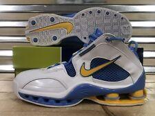 976478ffc805 Nike Shox Elite Denver Nuggets  04 Shoes White Gold Blue SZ 11.5 ( 309267-
