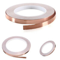 "Copper Foil Tape - 1/4"" X 100ft (6mmx30m)- EMI Shielding Conductive Adhesive"