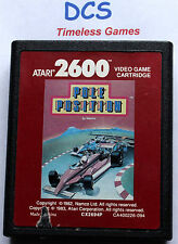 Pole Position ATARI 2600 / 7800 Spiel  Namco 1982 RAR Rennspiel