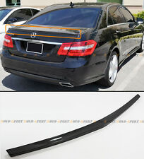 2010-2015 MERCEDES BENZ W212 E300 E350 E400 AMG SEDAN CARBON FIBER TRUNK SPOILER