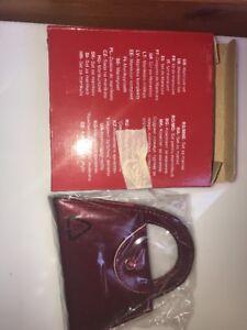 AVON RED SPARKLE HANDBAG SHAPED MANICURE GIFT SET NEW & BOXED