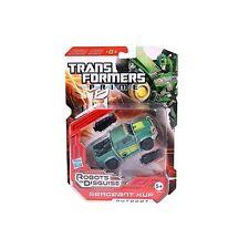 Transformers 37975/a0744 Prime robots in Disguise sargento sheetmtl aprox. 14 cm de nuevo con embalaje original