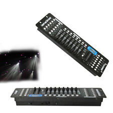 192 Kanäle DMX512 Controller Konsole für Disco Bühnenlicht Equipment Lichteffekt