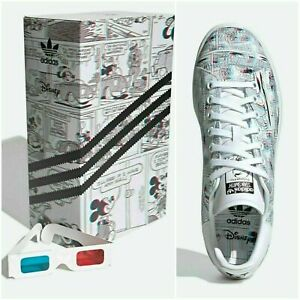 ADIDAS STAN SMITH DISNEY MICKEY MOUSE 3D MEN'S CASUAL SHOES CLASSIC SNEAKERS
