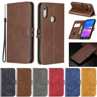 Slim Wallet Leather Flip Case Cover For Huawei Y7 2019 P30 Lite Y5 2019 Honor 9X