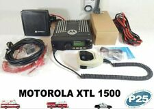 Motorola Xtl1500 Uhf 450-520 Mhz Police Fire Ems P25 Digital Mobile Radio Xtl