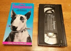Frankenweenie (VHS, 1992) A Comic Twist On A Classic Tail! Tim Burton