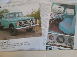 g  1966 Ford  F-250 4x4 Pickup Truck, 3 pages Info