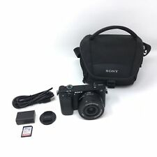 Sony Alpha a6300 24.2MP Digital Mirrorless Camera w/ 16-50mm OSS Lens - 2994